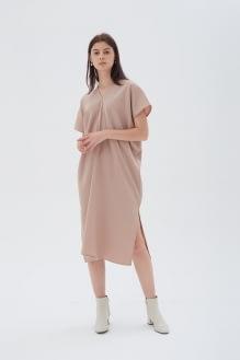 Shopatvelvet Elevation Dress Beige