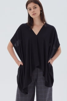 Shopatvelvet Demi Top Black