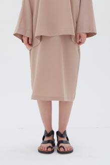Shopatvelvet Phase Skirt Beige