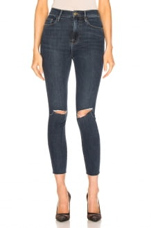 Frame Ali High Rise Skinny Cigarette Denim