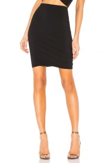 T by Alexander Wang Twisted Mini Skirt