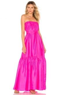 ANAAK Sakura Strapless Dress