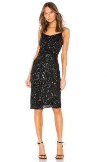 Parker Black Leighton Dress