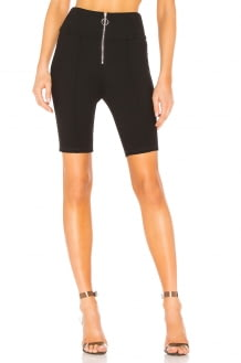 by the way. Lacey Front Zip Ponte Short