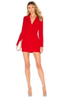 by the way. Joan Belted Blazer Dress