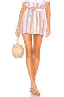 Adriana Degreas Porto Striped Clochard Shorts