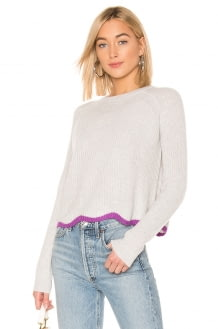 Autumn Cashmere Shaker Crew Neck Sweater