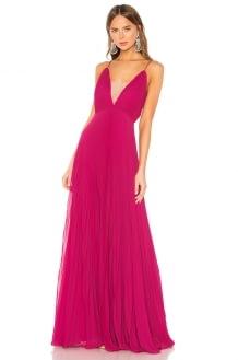 Jill Jill Stuart Pleated Gown