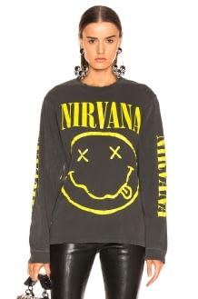 Madeworn Nirvana Smiley Tee