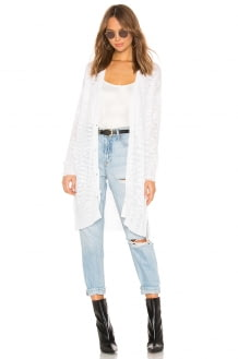 525 America Button Front Relaxed Cardigan