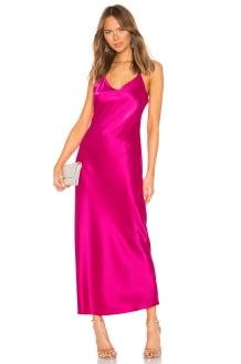 ANINE BING Rosemary Silk Slip Dress