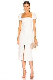Brock Collection Square Neck Dress