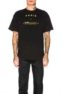 Raf Simons Big Fit Tour Graphic Tee