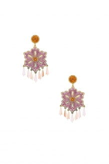 Mercedes Salazar Hibiscus Earrings