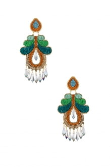 Mercedes Salazar Curubas Earrings