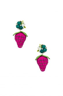 Mercedes Salazar Strawberry Tropics Earrings
