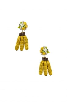 Mercedes Salazar Banana Tropics Earrings