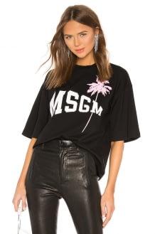 MSGM Palm Tee