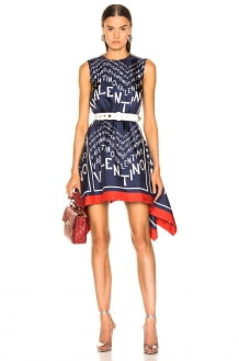 Valentino Chevron Dress