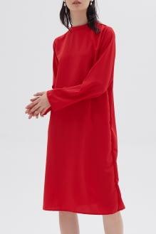 Shopatvelvet Sam Dress Red