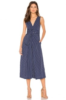 C/MEO Shadow Of Jumpsuit In Navy With Ivory