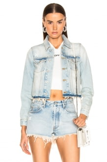 Off-White Cropped Jacket