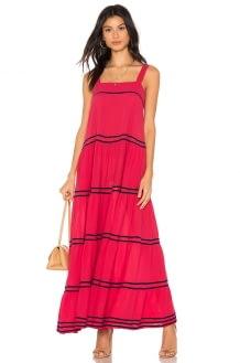 9seed Sayulita Tier Maxi Dress