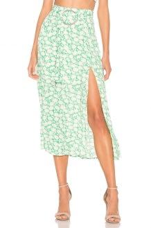 Capulet Savannah Belted Midi Skirt