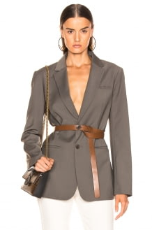 Tibi Blazer with Removable Belt
