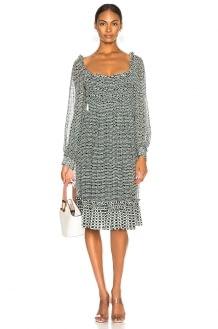 Proenza Schouler Print Dress