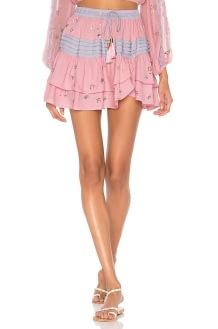 ROCOCO SAND Star Mini Skirt