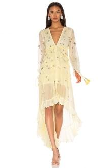 ROCOCO SAND Star Light High Low Dress