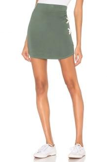 Monrow Supersoft Lacing Skirt