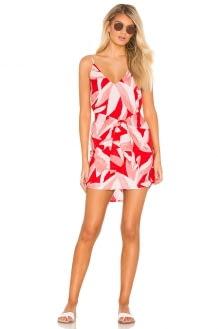 Suboo Havana Tie Front Mini Dress