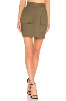 Michael Lo Sordo Front Pocket Mini Skirt