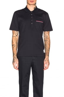 Thom Browne Jersey Polo