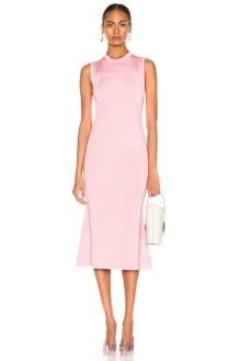 Victoria Beckham Tromp L'oeil Flared Dress