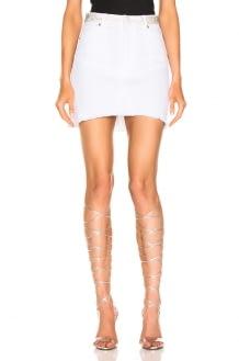 ALEXANDRE VAUTHIER Denim Mini Skirt