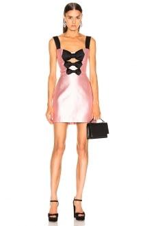 RASARIO Front Bow Mini Dress