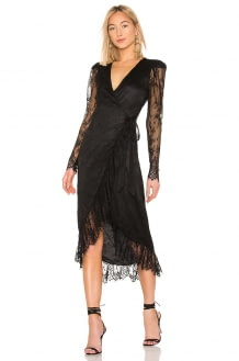 L'Academie The Kathleen Midi Dress