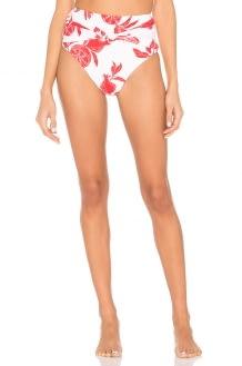Salinas High Waist Bikini Bottom