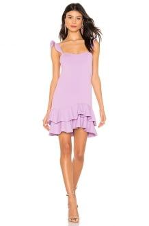 Susana Monaco Ruffle Strap Dress
