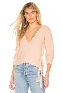 TULAROSA Destiny Wrap Sweater