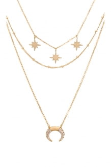 EIGHT by GJENMI JEWELRY North Star Layering Necklace