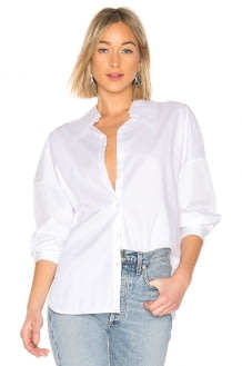 Tibi Oversized Hem Detail Top